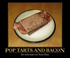 poptarts and bacon